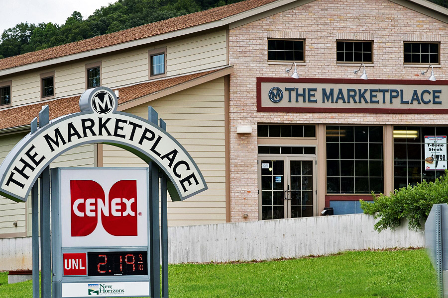 The Marketplace - New Horizons CENEX Convenience Store - Gays Mills, Wisconsin